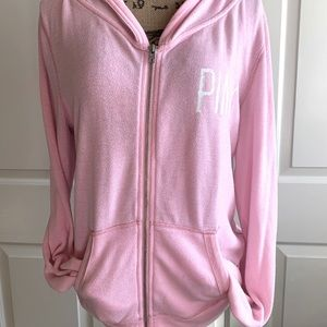 Victoria's Secret/PINK zip up hoodie